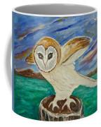 Equinox Owl Coffee Mug