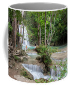 Erawan National Park In Thailand Coffee Mug