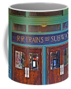 Erie Lackawanna Terminal Doors Hoboken Coffee Mug