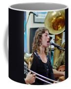 Erika Lewis With Tuba Skinny Coffee Mug