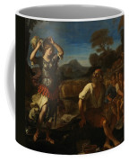 Erminia And The Shepherds Coffee Mug by Giovanni Francesco Barbieri
