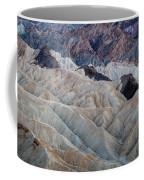 Erosional Landscape - Zabriskie Point Coffee Mug