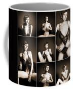 Erotic Beauty Collage 14 Coffee Mug