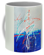 Erupting Blues Coffee Mug