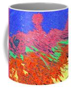 Erupting Lava Meets The Sea Coffee Mug by Joseph Baril