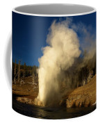 Eruption Along The Firehole Coffee Mug
