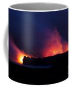 Eruption In The Night Coffee Mug