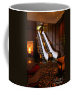 Escalator In The Brown Palace Coffee Mug