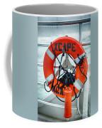 Escape To The Sea Coffee Mug