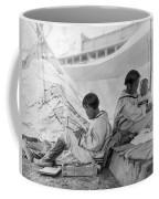 Eskimo Family, C1901 Coffee Mug