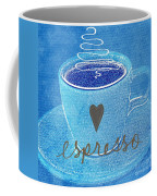 Espresso Coffee Mug by Linda Woods