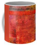 Essence Of Red Coffee Mug by Michelle Calkins