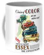 Essex Challenger Vintage Poster Coffee Mug