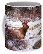 Estes Park Elk Coffee Mug