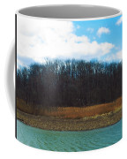 Estuary In Early Spring Coffee Mug