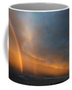 Ethereal Clouds And Rainbow Coffee Mug by Greg Reed