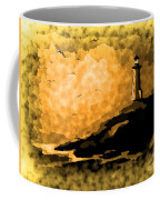 Ethereal Lighthouse Coffee Mug