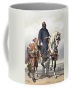 Eunuch Of The Seraglio On A Fine Arab Coffee Mug by Amadeo Preziosi