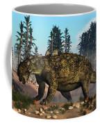 Euoplocephalus Dinosaur Grazing Coffee Mug