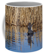 Eurasian Coot And The Bubles Coffee Mug