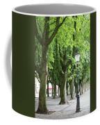 European Park Trees Coffee Mug