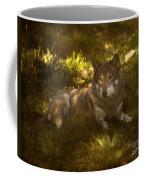 European Wolf Coffee Mug