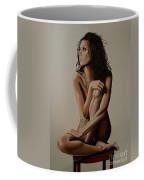 Eva Longoria Painting Coffee Mug