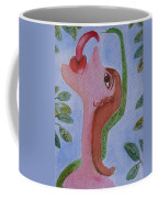 Eve And The Snake Coffee Mug