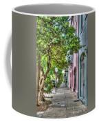 Evening Along Rainbow Row Coffee Mug