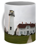 Evening At Chatham  Lighthouse Coffee Mug