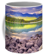 Evening At Lake Annette Coffee Mug