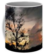 Evening Break In Rain Clouds Coffee Mug