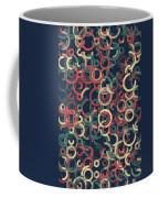 Evening Geometric Circle Segment Pattern Coffee Mug