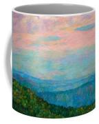 Evening Glow At Rock Castle Gorge  Coffee Mug