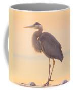 Evening Heron - Colorful Pastel Coffee Mug