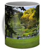 Evening In Central Park Coffee Mug