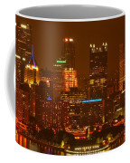 Evening In The City Of Champions Coffee Mug
