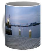 Evening Light At Chincoteague Sound  Coffee Mug