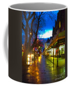 Evening Light On Lord Street Coffee Mug