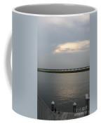 Evening Light  Over The Sound Coffee Mug