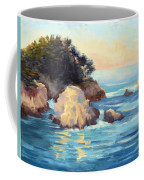 Evening Light Point Lobos Coffee Mug