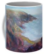 Evening Light On The Oregon Coast - Original Impressionist Oil Painting - Plein Air Coffee Mug