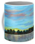 Evening On Ema River Coffee Mug