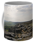 Evening On Stanage Edge Coffee Mug