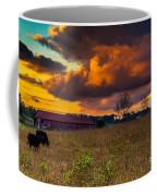 Evening On The Farm Five Coffee Mug