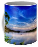 Evening On The River Coffee Mug