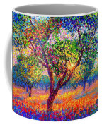 Evening Poppies Coffee Mug by Jane Small