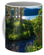 Evening Shadows At Lake George Coffee Mug