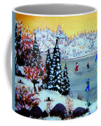 Evening Skating Coffee Mug