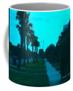 Evening Stroll At Isle Of Palms Coffee Mug